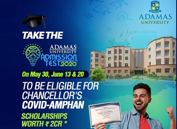 Adamas University announces Covid-Amphan scholarships